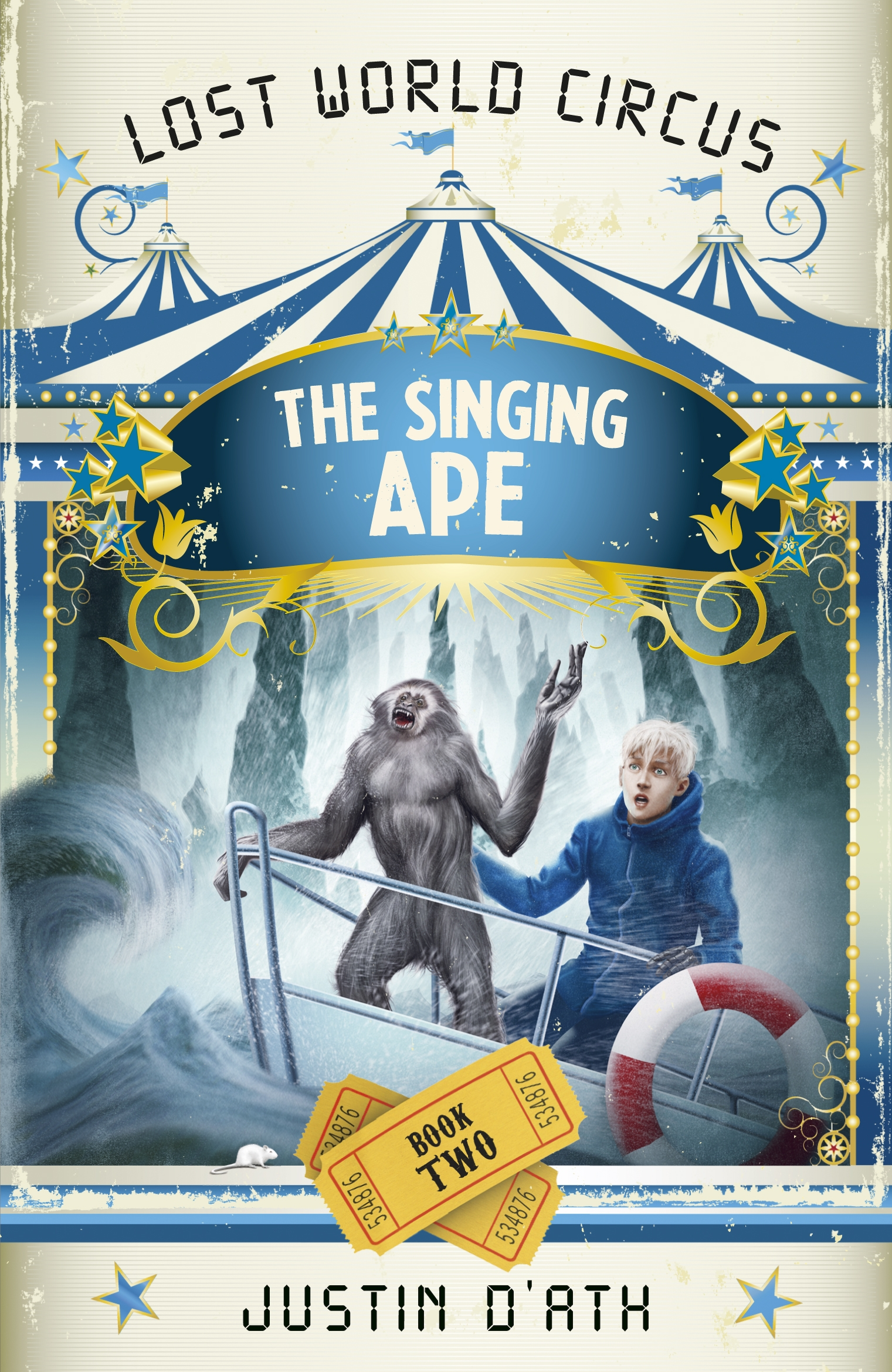 Singing Ape by Justin D'Ath