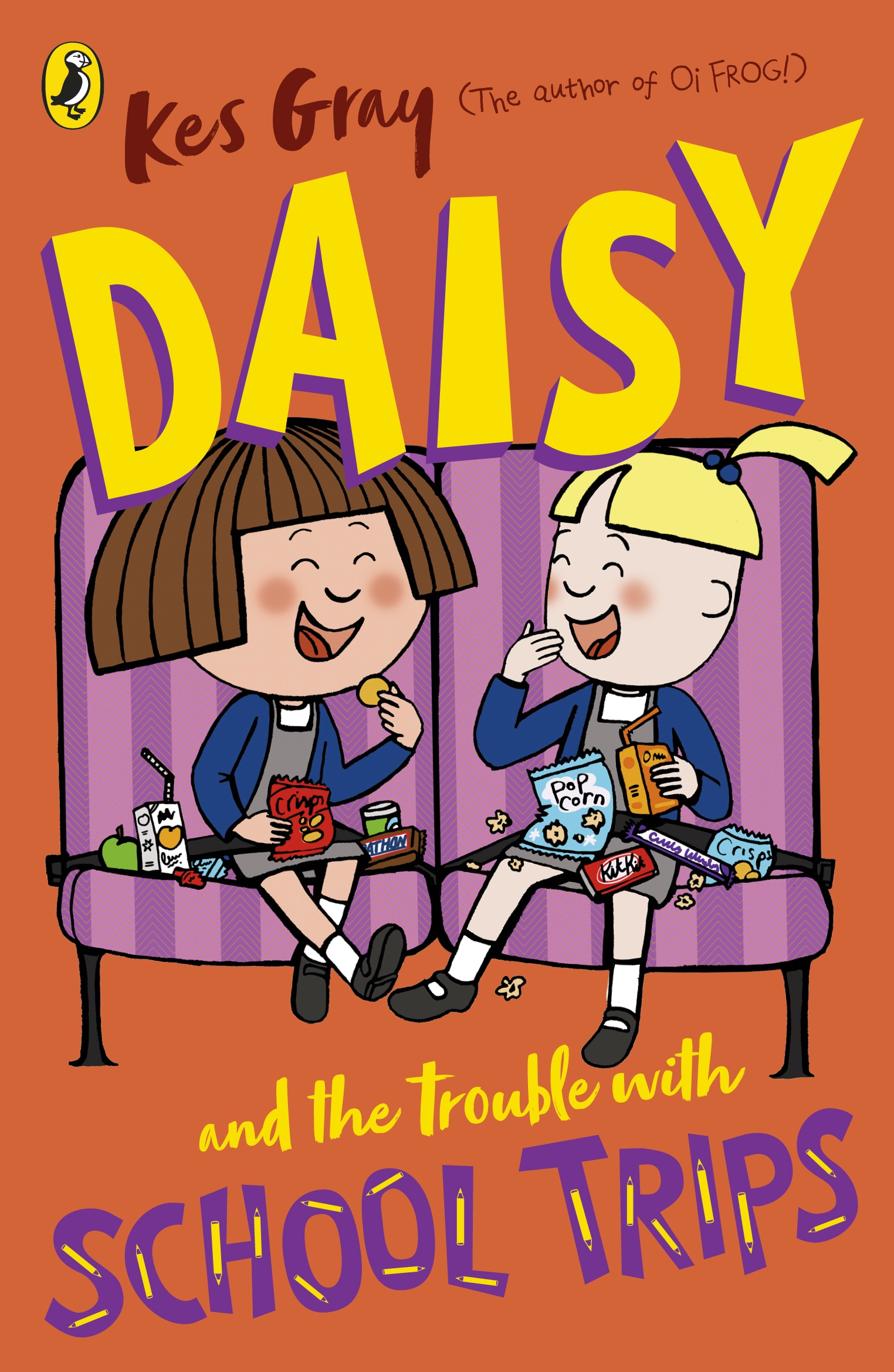 Picture of Daisy and the Trouble with School Trips