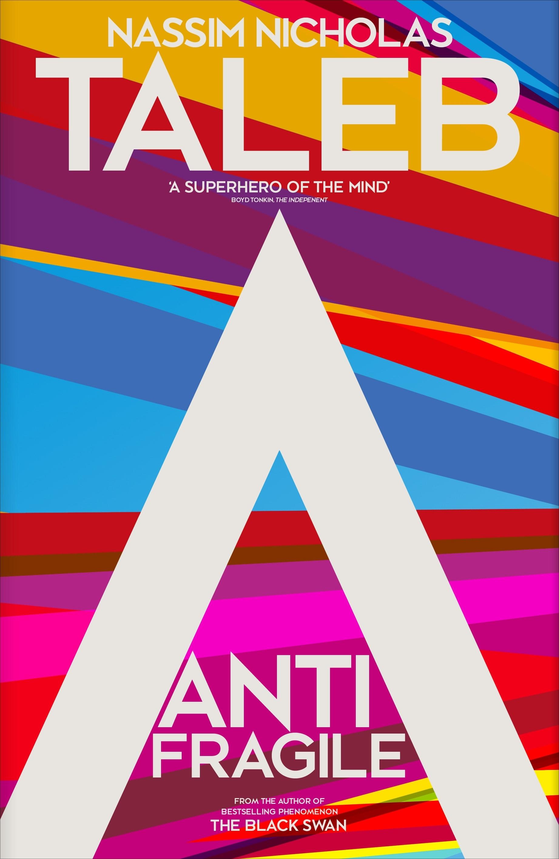 Book Cover:  Antifragile: How to Live in a World We Don't Understand