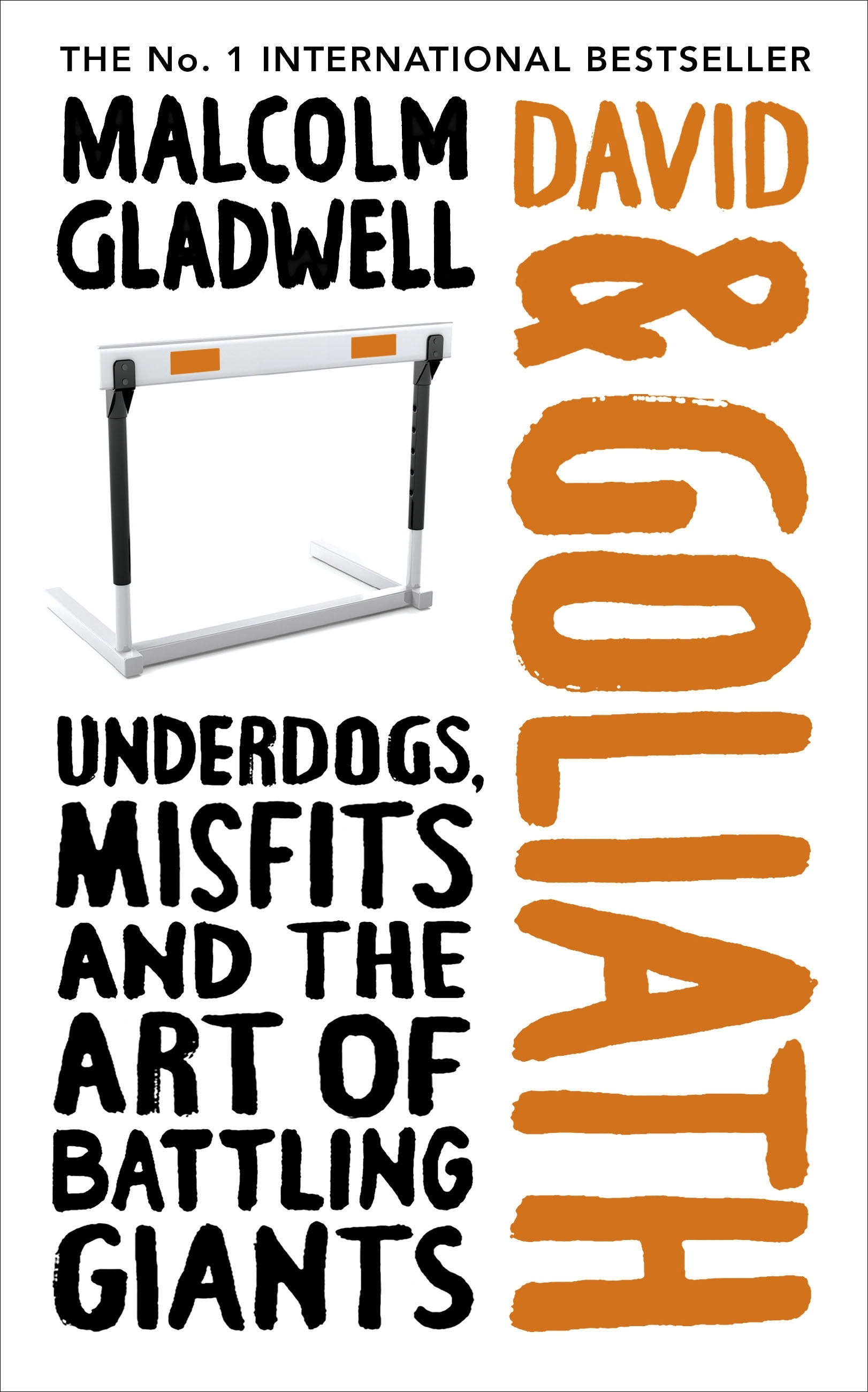 Book Cover:  David and Goliath: Underdogs, Misfits and Rules for Facing Giants