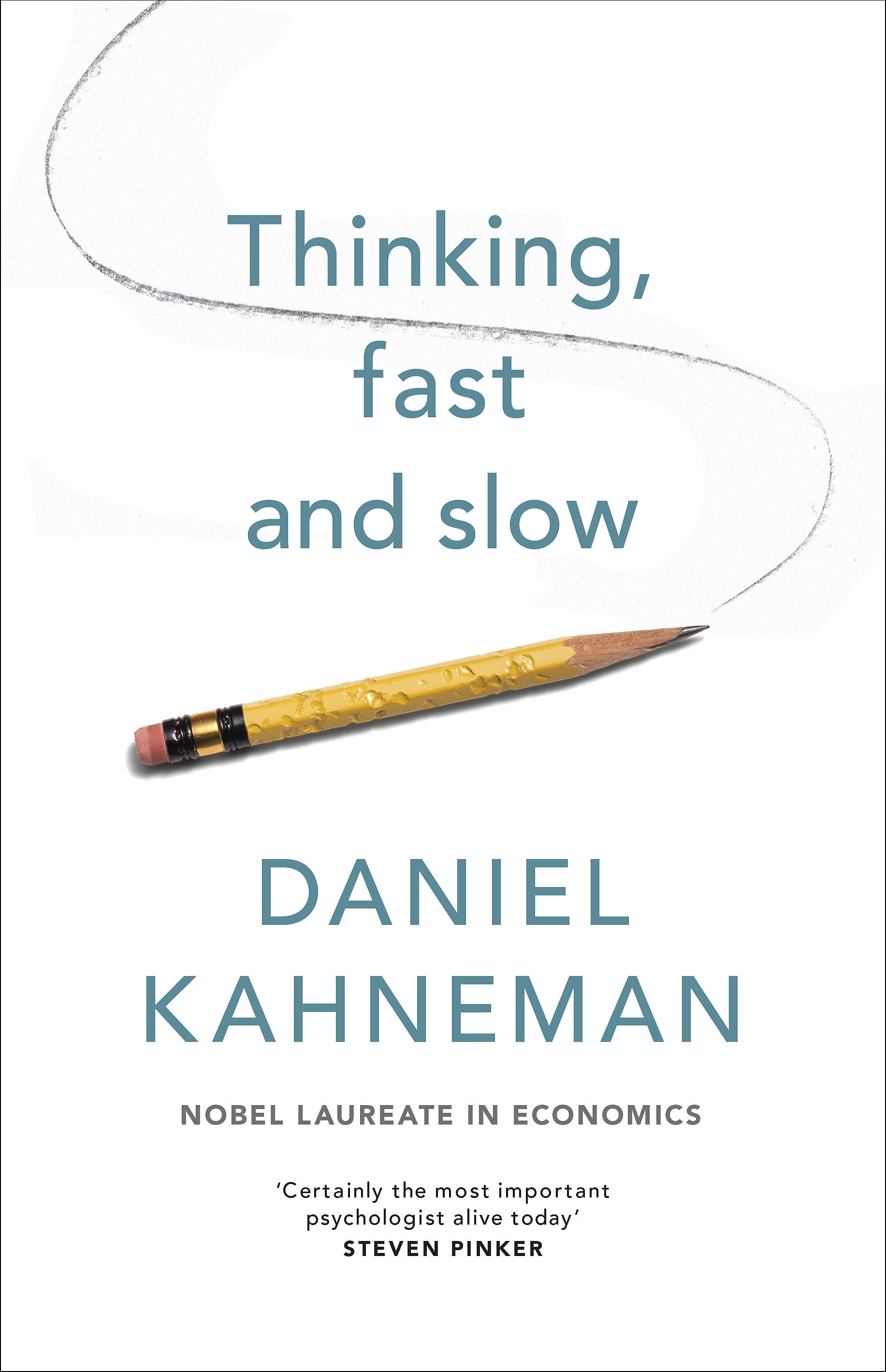 Book Cover:  Thinking, Fast and Slow