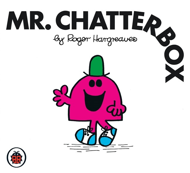 Book Cover:  Mr Men and Little Miss: Mr Chatterbox