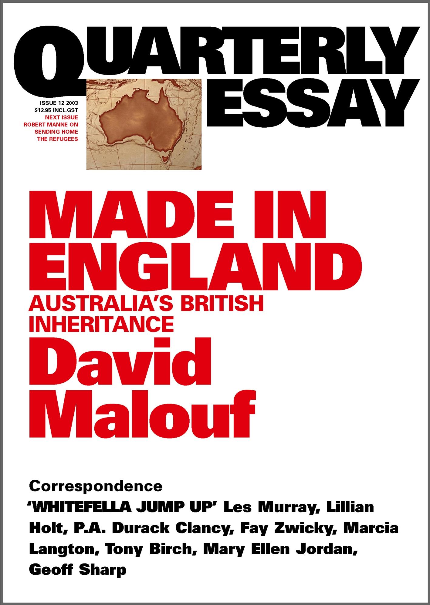 essay about australian literature