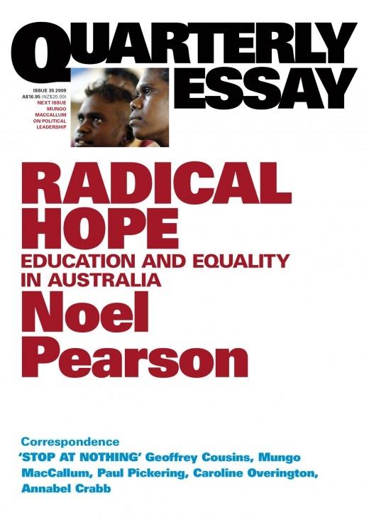 noel pearson an australian history for us all essay