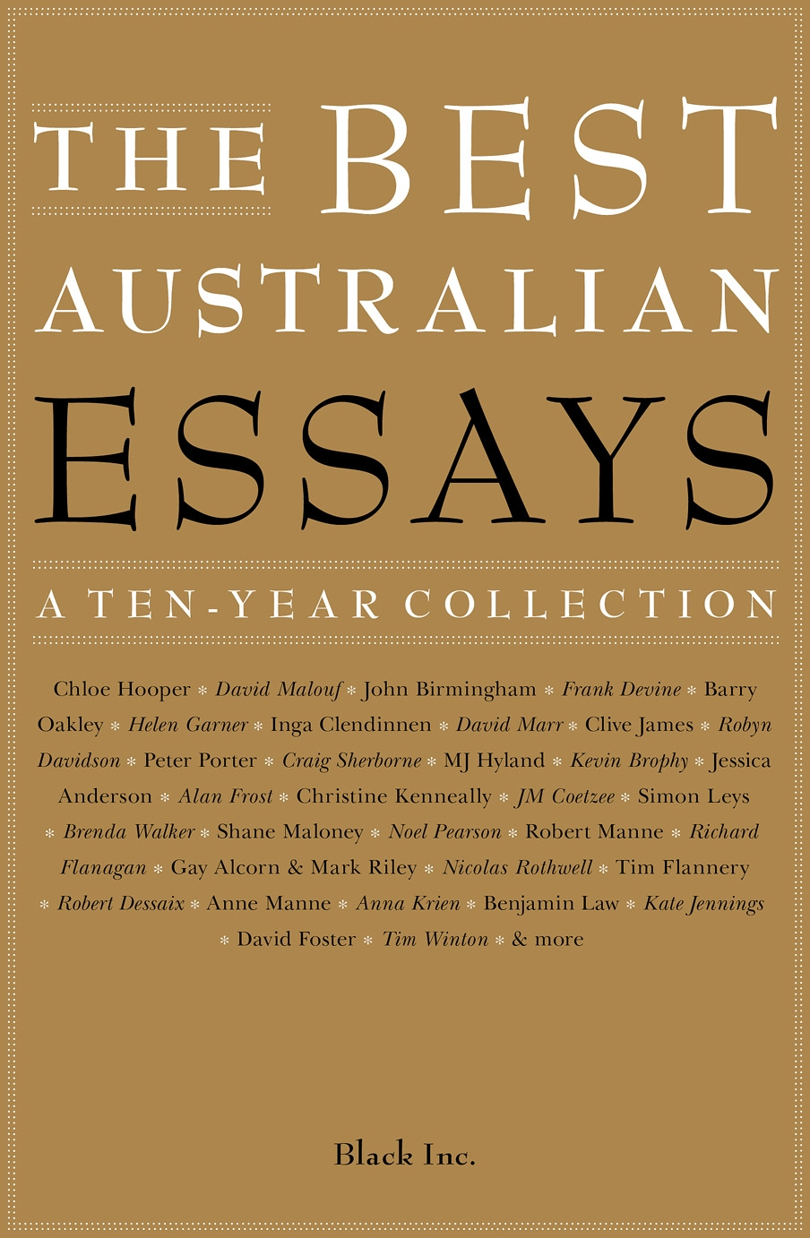 Best collections of essays