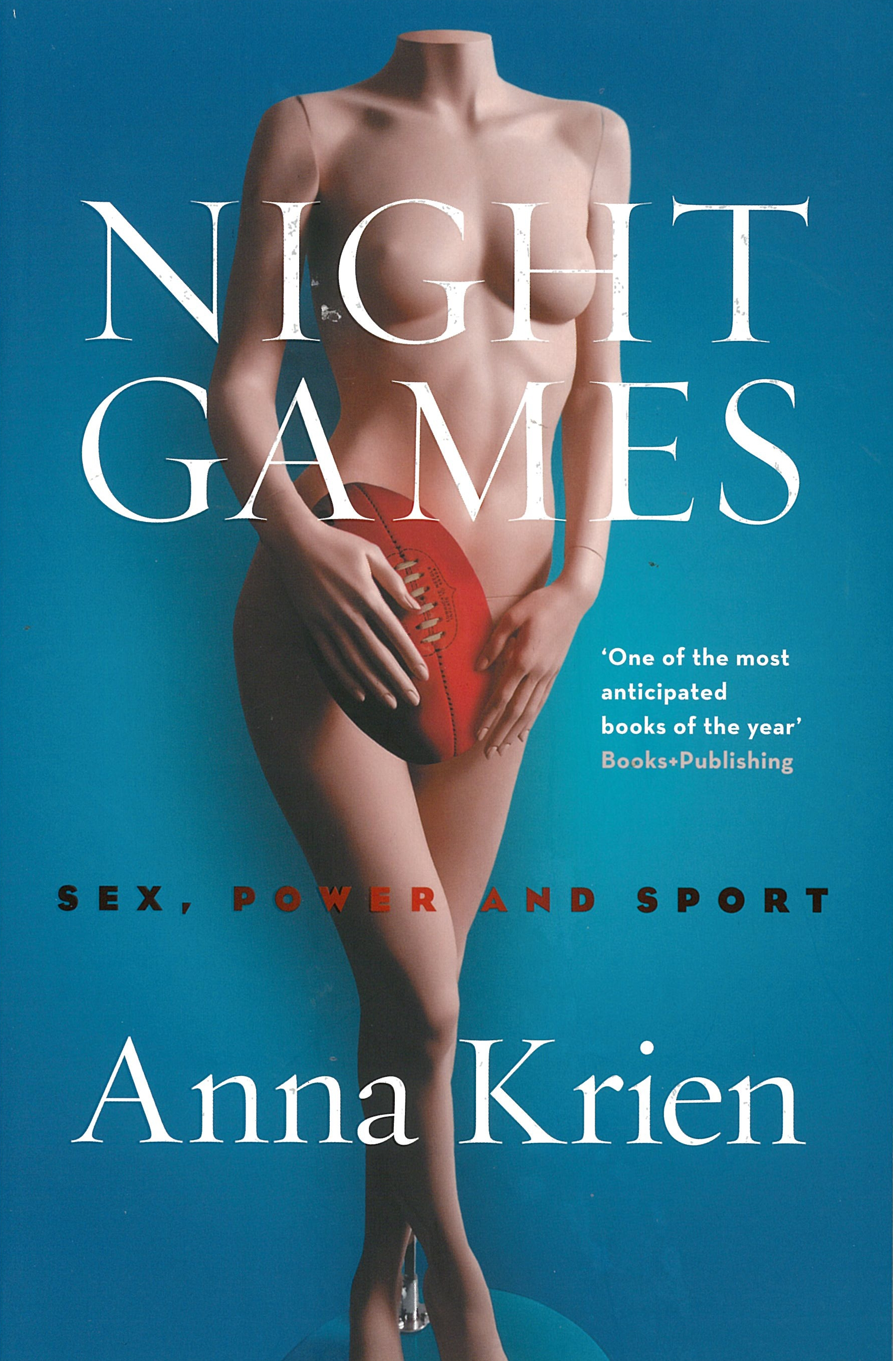 Book Cover:  Night Games: Sex, Power and Sport