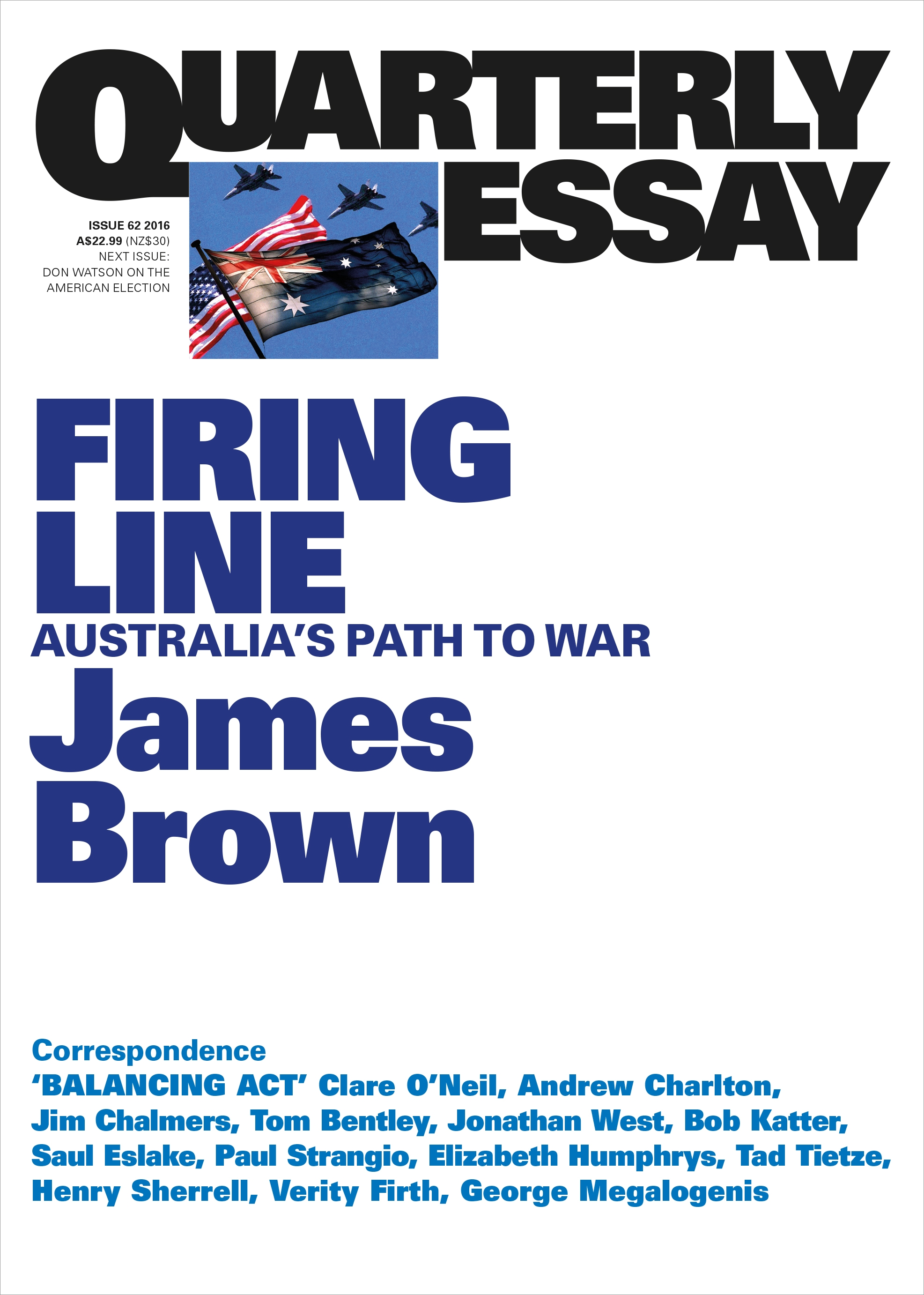 firing line s path to war quarterly essay 62 penguin firing line s path to war quarterly essay 62