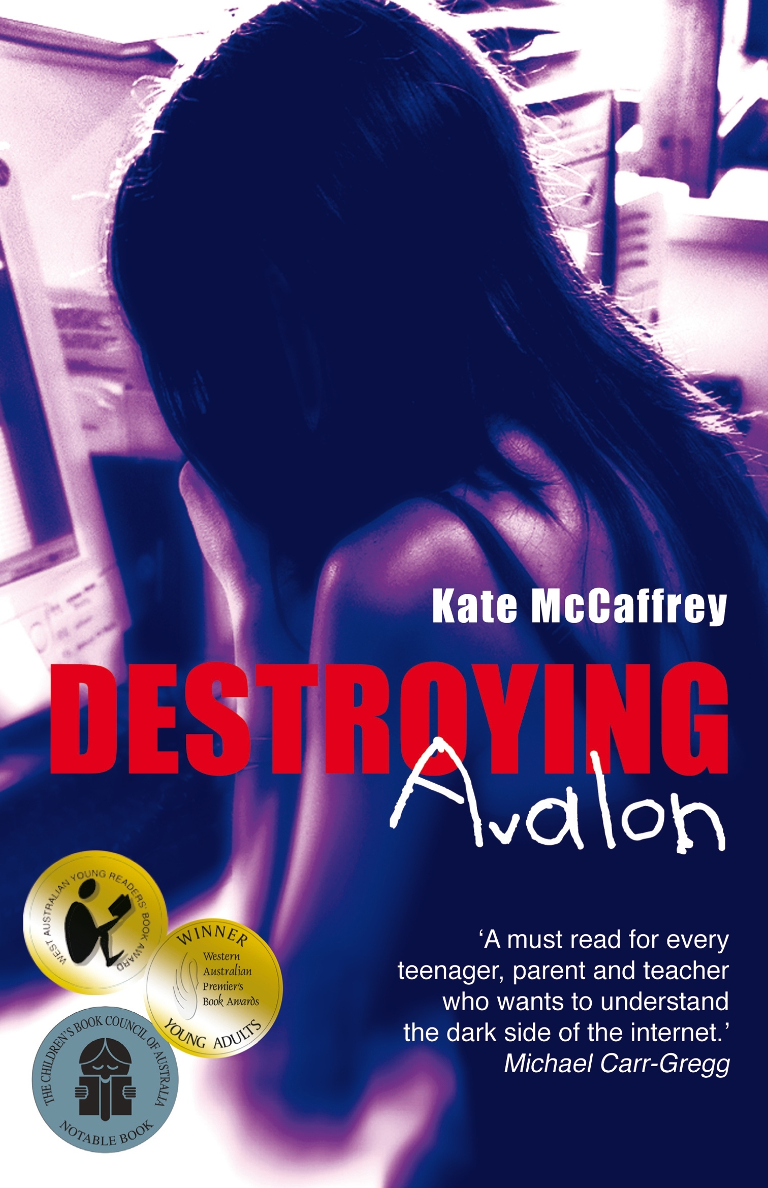 Book Cover:  Destroying Avalon
