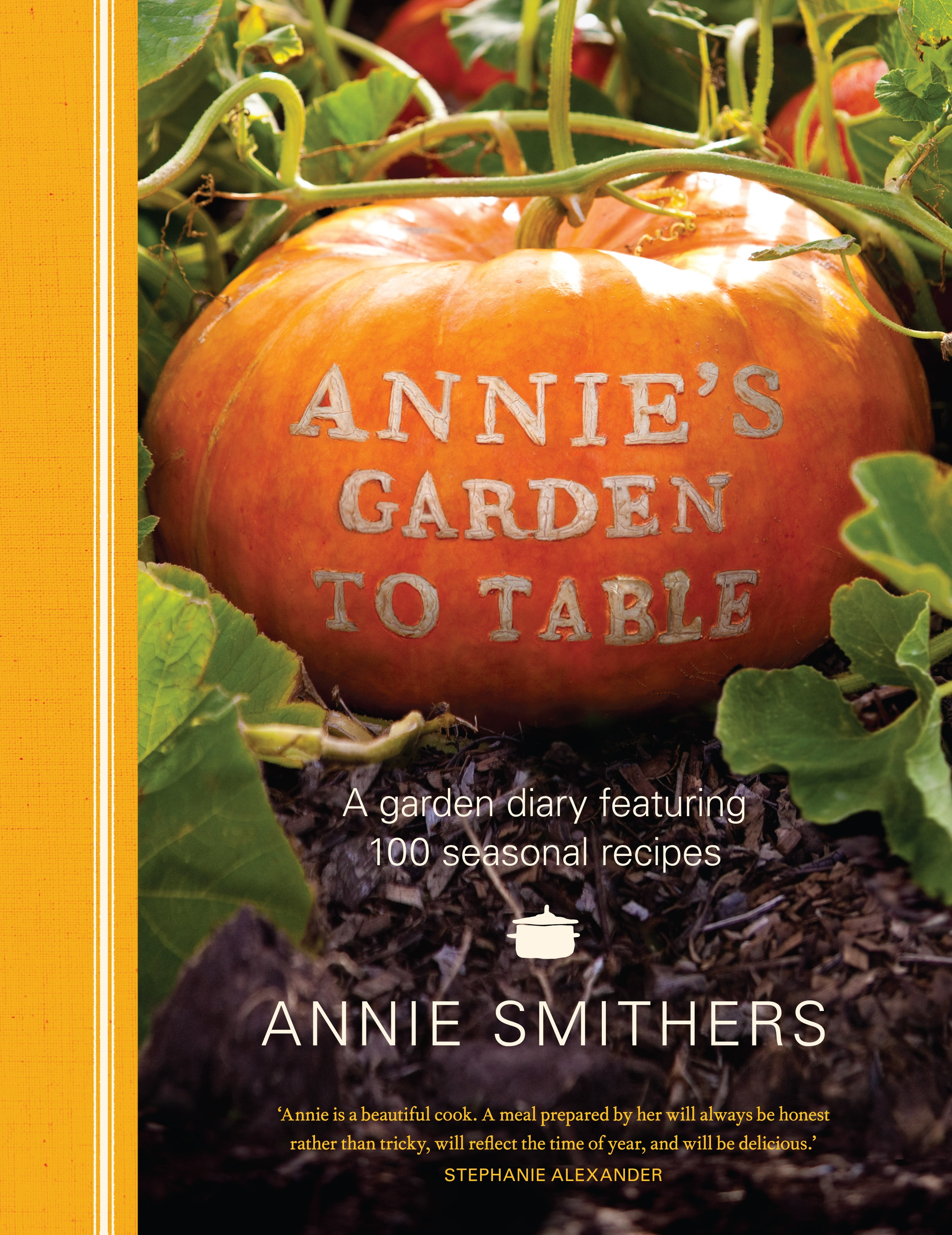 Book Cover:  Annie's Garden to Table