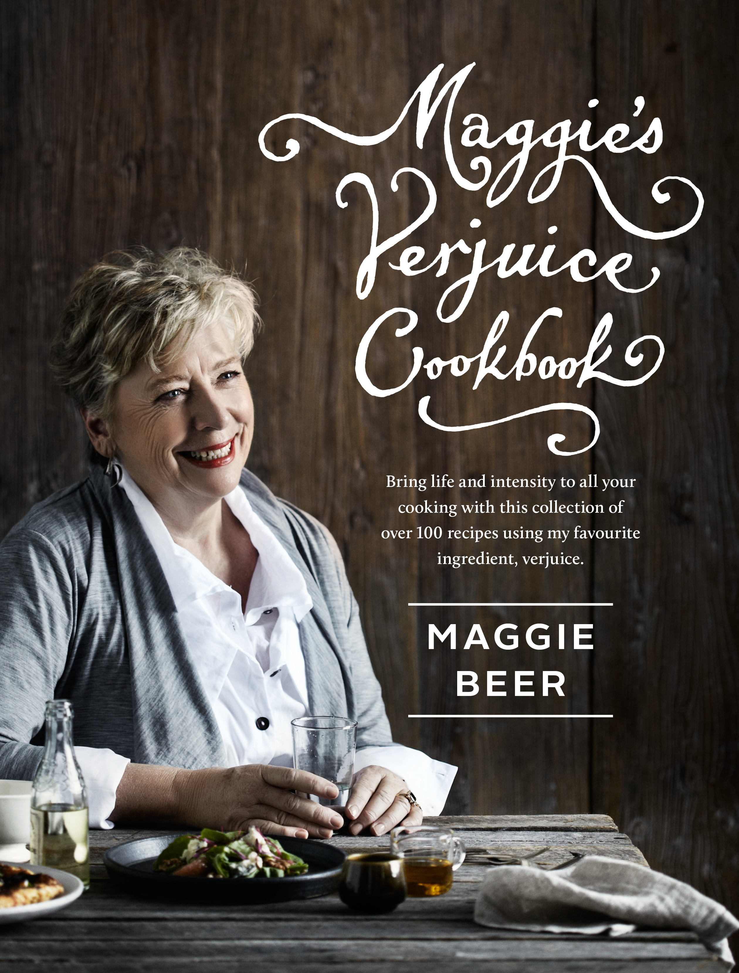 Book Cover:  Maggie's Verjuice Cookbook