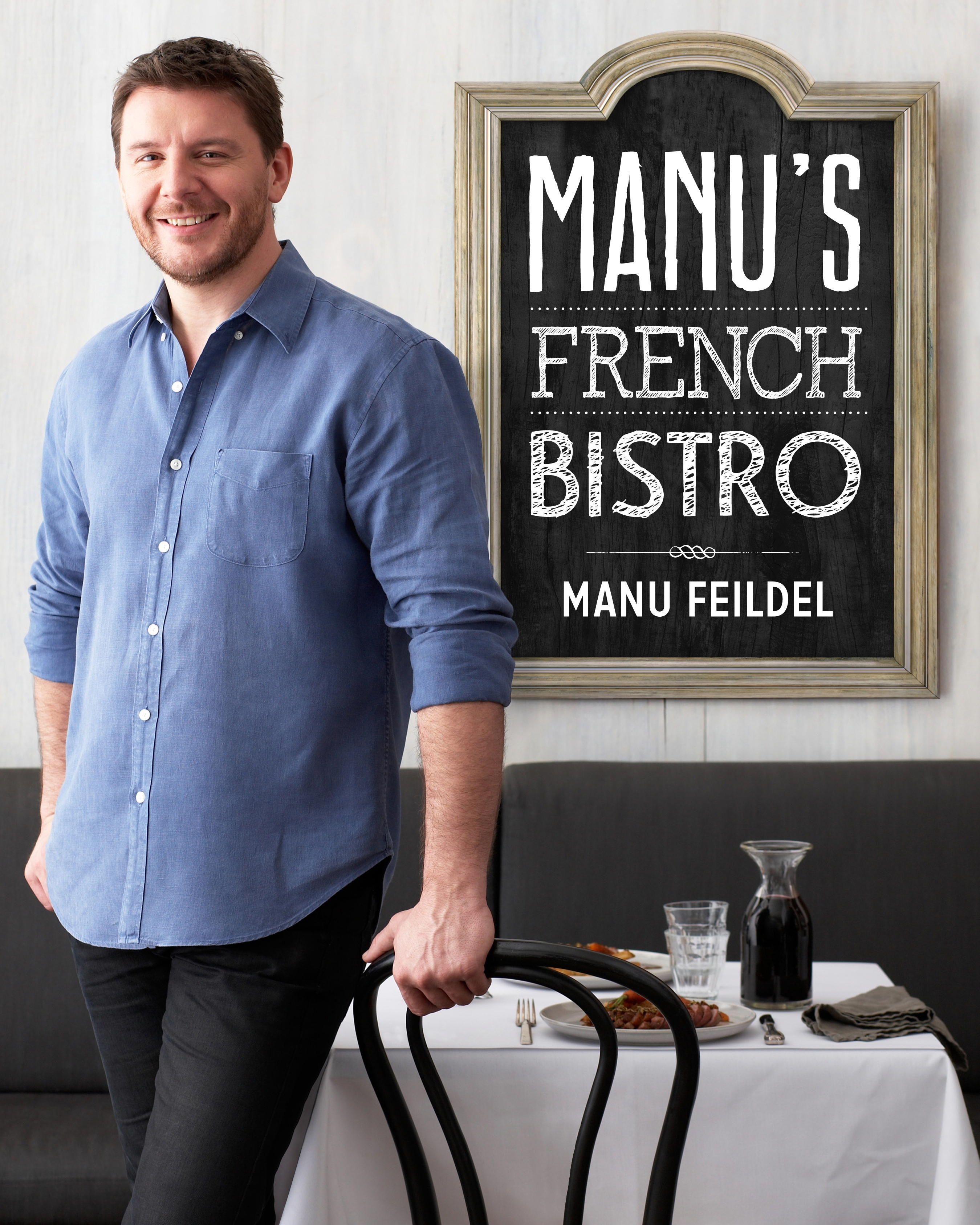 Book Cover:  Manu's French Bistro