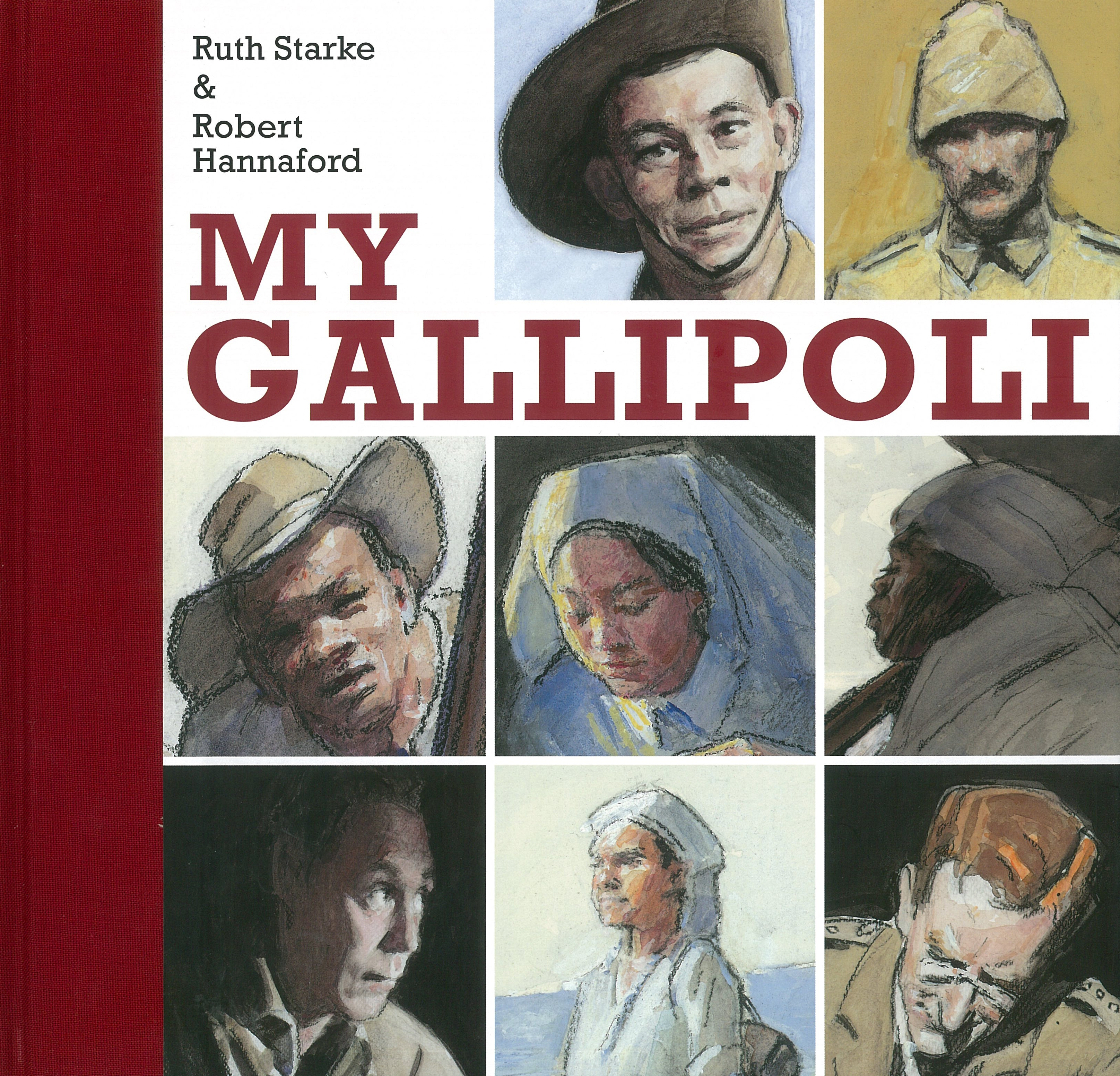 Book Cover:  My Gallipoli