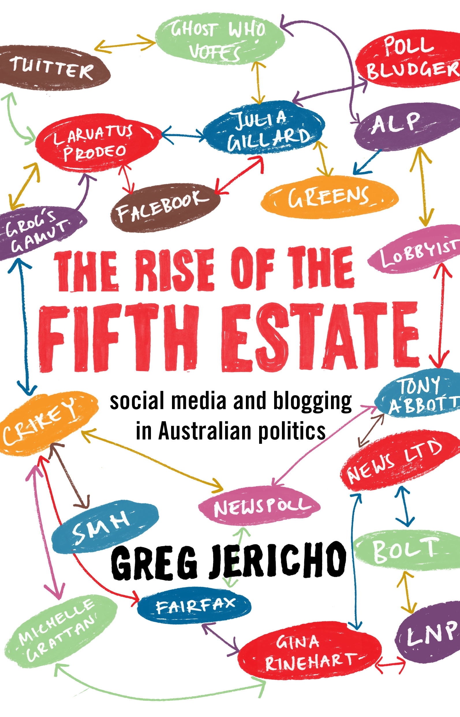 Book Cover: The Rise of the Fifth Estate: social media and blogging in Austral