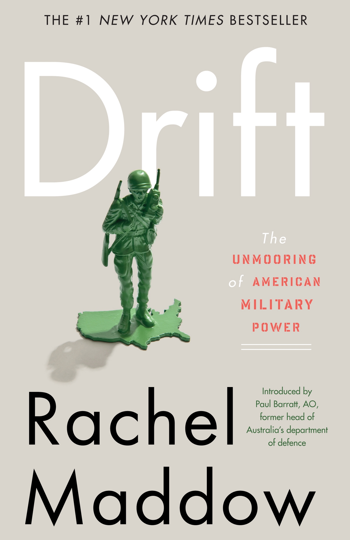 Book Cover:  Drift: The Unmooring of American Military Power