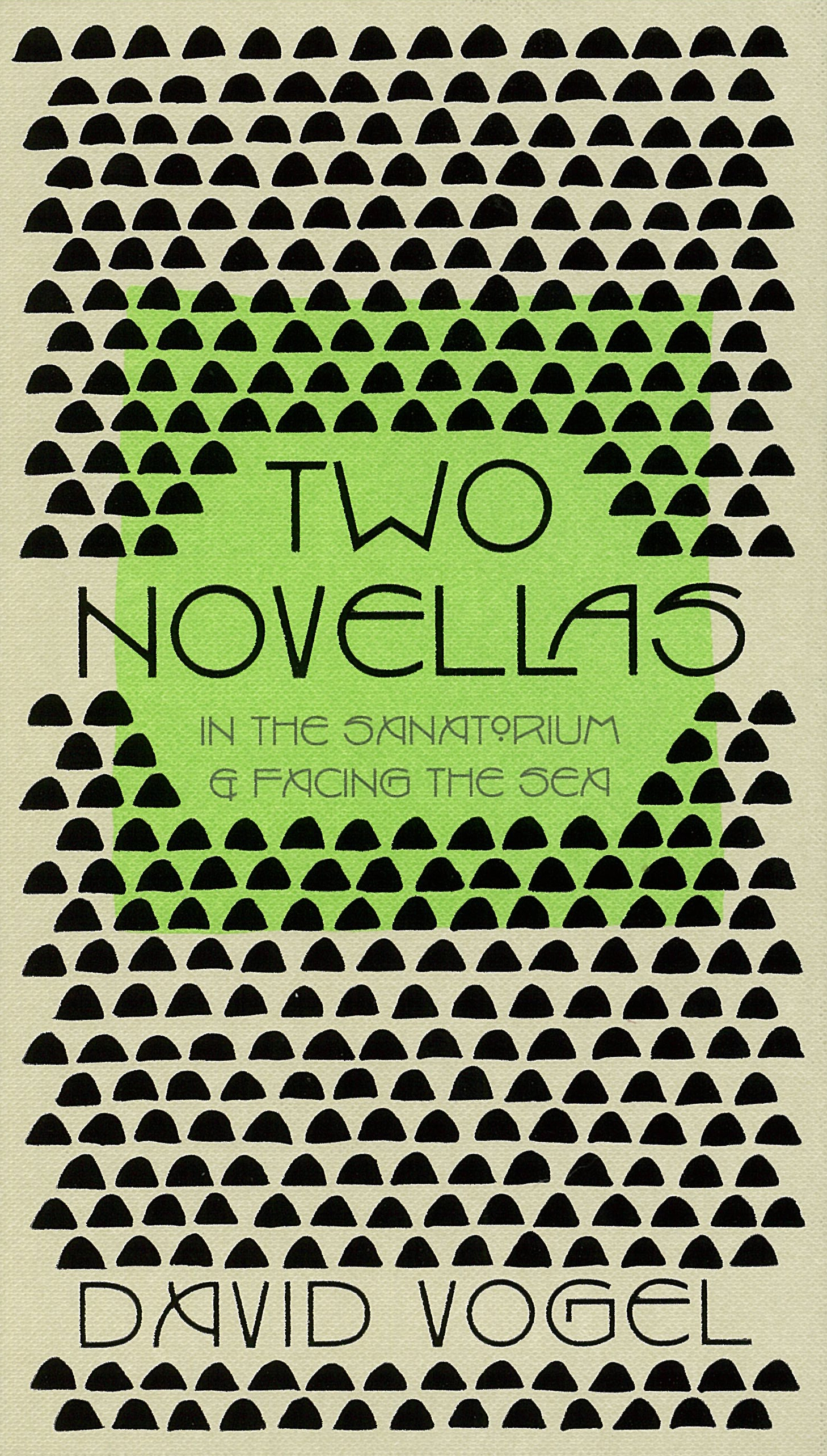 Book Cover:  Two Novellas: In the Sanatorium & Facing the Sea