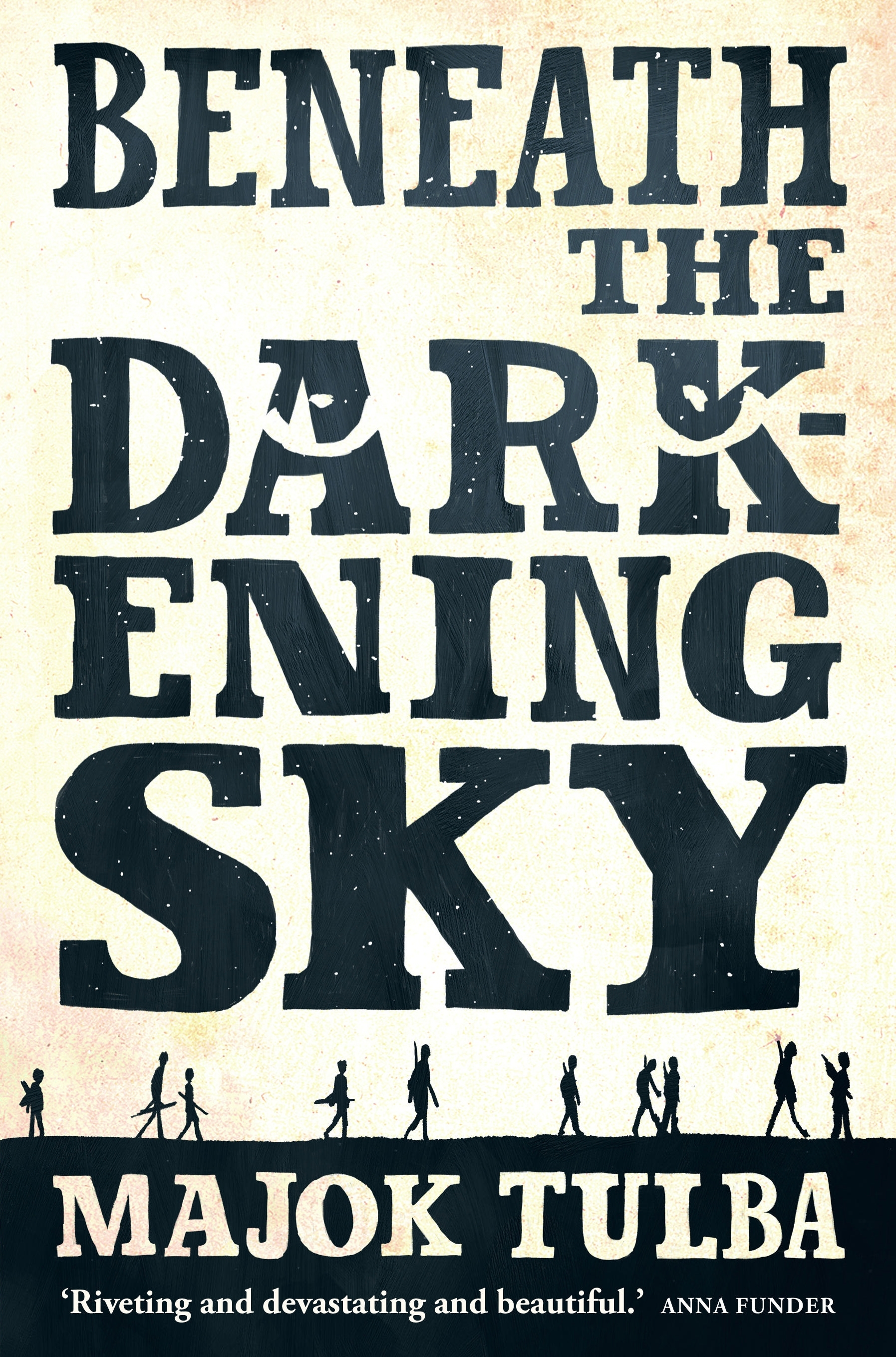 Book Cover:  Beneath the Darkening Sky