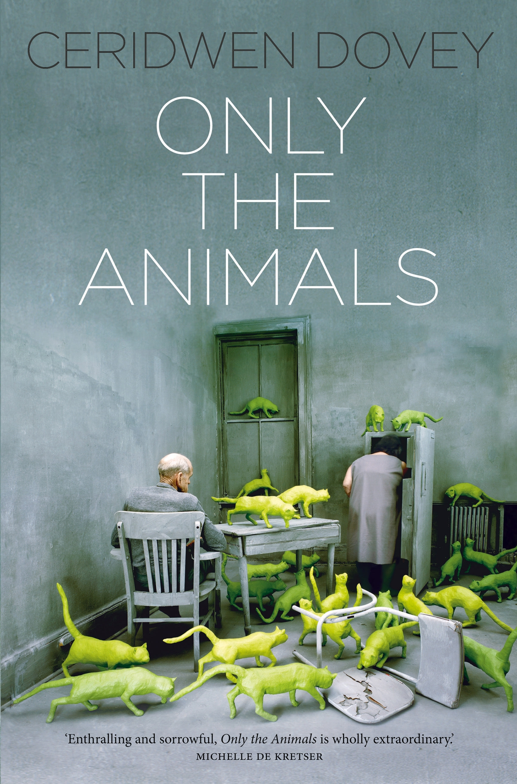 Book Cover:  Only the Animals